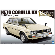 AOSHIMA - Toyota Ke70 Corolla Sedan  Dx Early Version rc autó