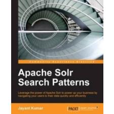 Apache Solr Search Patterns – Jayant Kumar idegen nyelvű könyv