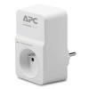 APC Essential SurgeArrest PM1W-FR, 1 csatlakozóval