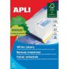 APLI 38x21,2 mm univerzális Etikett (500 lap)