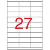 APLI 70x30 mm univerzális Etikett (100 lap)