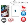 APLI APLI 1 pályás etiket 210x297 vízálló 20db