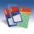 APLI Etikett, 19 mm kör, kézzel írható, színes, APLI, sárga, 100 etikett/csomag (LCA2063)