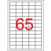 APLI Etikett, lézernyomtatókhoz, 38x21,2 mm, APLI, 16250 etikett/csomag