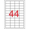 APLI Etikett, lézernyomtatókhoz, 48,5x25,4 mm, APLI, 11000 etikett/csomag