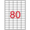 APLI Etikett, univerzális, 35,6x16,9 mm, eltávolítható, kerekített sarkú, APLI, 2000 etikett/csomag
