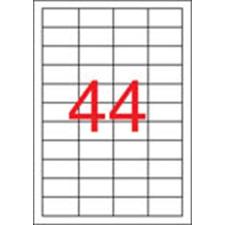 APLI Etikett, univerzális, 48,5x25,4 mm, APLI, 1100 etikett/csomag etikett