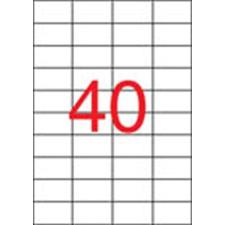 APLI Etikett, univerzális, 52,5x29,7 mm, APLI, 4000 etikett/csomag etikett