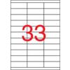 APLI Etikett, univerzális, 70x25,4 mm, APLI, 3300 etikett/csomag