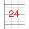 APLI Etikett, univerzális, 70x35 mm, APLI, 12000 etikett/csomag