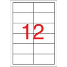 APLI Etikett, univerzális, 97x42,4 mm, APLI, 6000 etikett/csomag etikett