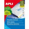 APLI Etikett, univerzális, 99,1x67,7 mm, kerekített sarkú, APLI, 800 etikett/csomag (LCA2420)