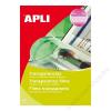 APLI Fólia, kézzel írható, A4, APLI (FOIA1080)