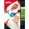 """APLI Fotópapír, lézer, A4, 160 g, fényes, kétoldalas, APLI """"Premium Laser"""""""