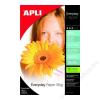 APLI Fotópapír, tintasugaras, 10x15 cm, 180 g, fényes, APLI Everyday (LEAA11476)