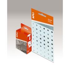 APLI Lyukerősítő gyűrű, 13 mm átmérő, APLI, átlátszó gyűrűskönyv