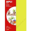 APLI Moosgumi, 210x297 mm, APLI Eva Sheets, vegyes neon színek (LCA13556)