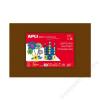 APLI Moosgumi, 400x600 mm, APLI Eva Sheets, barna (LCA12766)