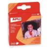 APLI Öntapadó fotósarok, 200 db/csomag (LCA00093)