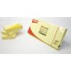 APLI Öntapadó jegyzettömb, 38x51 mm, 3x100 lap, APLI, sárga