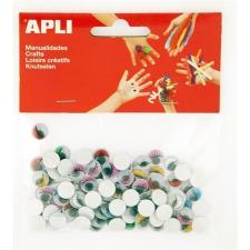 """APLI Öntapadó mozgó szem, APLI """"Creative"""", vegyes színek kreatív és készségfejlesztő"""