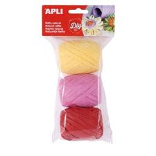 """APLI Raffia gombolyag szett , """"Kids"""", cukorka színek papírárú, csomagoló és tárolóeszköz"""