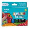 """APLI Tempera stift készlet, APLI \""""Kids\"""", 6 különböző szín [6 db]"""