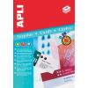APLI Ültetőkártya, 180x125 mm, mikroperforált, APLI
