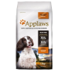 Applaws Adult Small & Medium Breed csirke - 2 x 7,5 kg