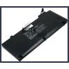 """Apple A1322 MacBook Pro 13"""" Precision Aluminum Unibody (2009 Version) 63 Wh 6 cella fekete notebook/laptop akku/akkumulátor utángyártott"""