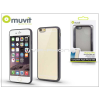 Apple Apple iPhone 6/6S hátlap - Muvit Frame TPU - clear/black