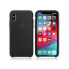 Apple Apple iPhone XS eredeti gyári szilikon hátlap - MRW72ZM/A - black