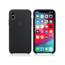 Apple Apple iPhone XS eredeti gyári szilikon hátlap - MRW72ZM/A - black tok és táska