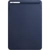 """Apple Eredeti bőr tok Apple iPad Pro 10.5"""" készülékre - éjféli kék"""