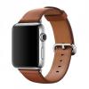 Apple Eredeti elegáns bőr óraszíj klasszikus csattal Apple Watch 38mm - barna