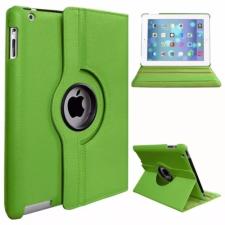 Apple iPad Pro 12.9 (2020), mappa tok, elforgatható (360°), zöld tablet tok