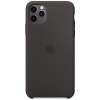 Apple iPhone 11 Pro Max szilikon tok fekete