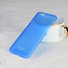 Apple iPhone 6/6S hátlap - IMAK 0.7 mm Color Slim - kék tok és táska