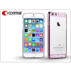 Apple iPhone 6/6S hátlap Swarovski kristály díszitéssel - Comma Crystal Bling - rose pink