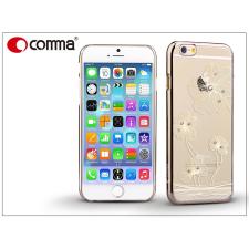 Apple iPhone 6/6S hátlap Swarovski kristály díszitéssel - Comma Crystal Flora - champagne gold tok és táska