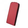 Apple iPhone 6 / 6S, Műanyag hátlap védőtok (valódi bőrbevonat), BMW Perforated, piros