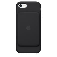 Apple IPHONE 7 SMART BATTERY CASE BLACK tok és táska