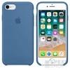 Apple iPhone 8/7  gyári szilikon hátlap tok, Denim kék, MRFR2ZM/A