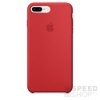 Apple iPhone 8 Plus/7 Plus gyári szilikon hátlap tok, (PRODUCT)RED, MQH12