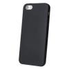 Apple iPhone X fekete MATT vékony szilikon tok