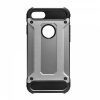 Apple iPhone X, Műanyag hátlap védőtok, Defender, fémhatású, szürke