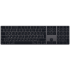 Apple Magic Keyboard számbillentyűzettel Orosz szürke