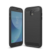 Apple Samsung G965 Galaxy S9 Plus Carbon vékony szilikon tok fekete