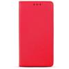 Apple Smart magnet Apple iPhone 6/6S oldalra nyíló mágneses könyv tok szilikon belsővel piros