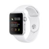 Apple Watch 1 38mm Silver Alu Case with White Sport Band  MNNG2ZD/A